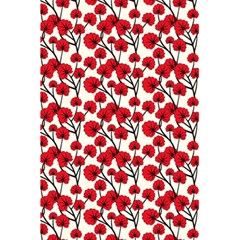 Red Flowers 5 5  X 8 5  Notebooks
