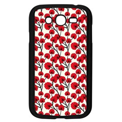 Red Flowers Samsung Galaxy Grand Duos I9082 Case (black)
