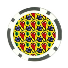 Spring Love Poker Chip Card Guard (10 Pack)