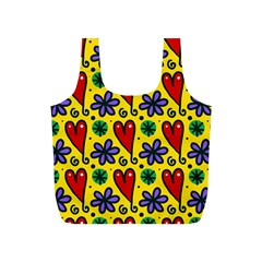 Spring Love Full Print Recycle Bags (s)