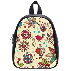 Spring Time Fun School Bag (small)