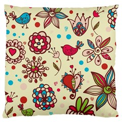 Spring Time Fun Large Cushion Case (two Sides)