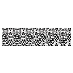 Tribal Native American Hand Drawing Pattern Satin Scarf (oblong)