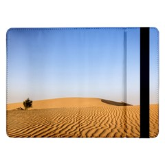 Desert Dunes With Blue Sky Samsung Galaxy Tab Pro 12 2  Flip Case