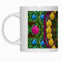 Bohemian Chic In Fantasy Style White Mugs