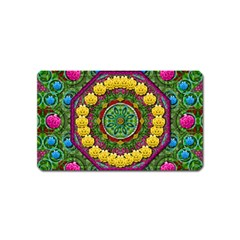 Bohemian Chic In Fantasy Style Magnet (name Card)