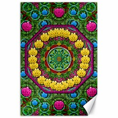 Bohemian Chic In Fantasy Style Canvas 20  X 30