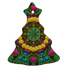 Bohemian Chic In Fantasy Style Ornament (christmas Tree)