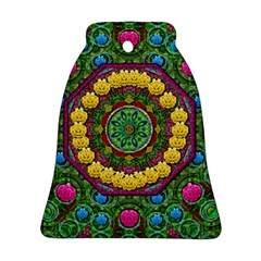 Bohemian Chic In Fantasy Style Ornament (bell)