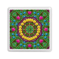 Bohemian Chic In Fantasy Style Memory Card Reader (square)