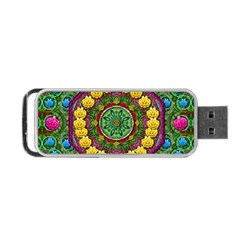Bohemian Chic In Fantasy Style Portable Usb Flash (one Side)