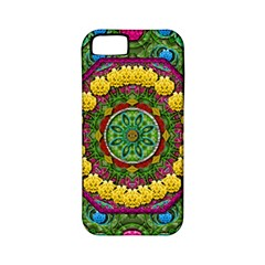 Bohemian Chic In Fantasy Style Apple Iphone 5 Classic Hardshell Case (pc+silicone)