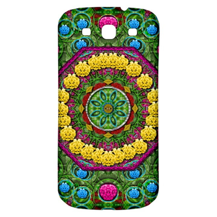 Bohemian Chic In Fantasy Style Samsung Galaxy S3 S III Classic Hardshell Back Case