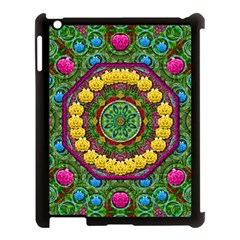 Bohemian Chic In Fantasy Style Apple Ipad 3/4 Case (black)