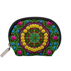 Bohemian Chic In Fantasy Style Accessory Pouches (small)