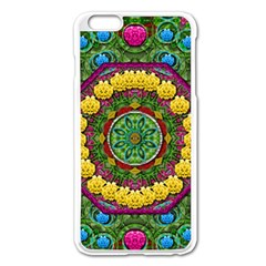 Bohemian Chic In Fantasy Style Apple Iphone 6 Plus/6s Plus Enamel White Case