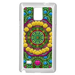 Bohemian Chic In Fantasy Style Samsung Galaxy Note 4 Case (white)