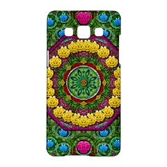 Bohemian Chic In Fantasy Style Samsung Galaxy A5 Hardshell Case