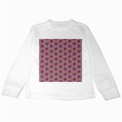 Star And Crystal Shapes 01 Kids Long Sleeve T Shirts