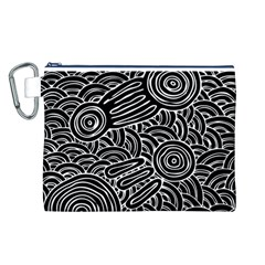 Meeting Places Canvas Cosmetic Bag (l)