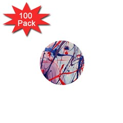 Messy Love 1  Mini Buttons (100 Pack)