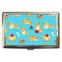 Corgi Pattern Cigarette Money Cases