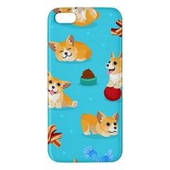 Corgi Pattern Iphone 5s/ Se Premium Hardshell Case
