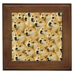 Corgi Dog Framed Tiles