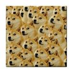 Corgi Dog Face Towel Front