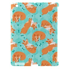 Corgi Dog Pattern Apple Ipad 3/4 Hardshell Case (compatible With Smart Cover)