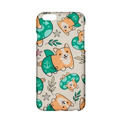 Corgi Beach Party Apple Iphone 6/6s Hardshell Case
