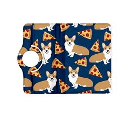 Corgi Pizza Navy Blue Kids Cute Funny Kindle Fire Hd (2013) Flip 360 Case