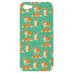 Corgi Dog Wrap Apple Iphone 5 Hardshell Case