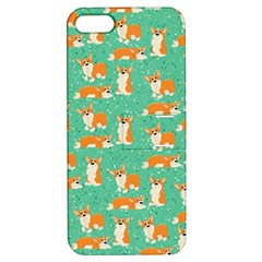 Corgi Dog Wrap Apple Iphone 5 Hardshell Case With Stand
