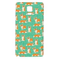 Corgi Dog Wrap Galaxy Note 4 Back Case