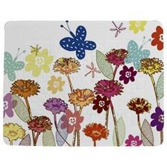 Flowers Butterflies Dragonflies Jigsaw Puzzle Photo Stand (rectangular)