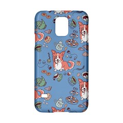 Dog Corgi Pattern Samsung Galaxy S5 Hardshell Case
