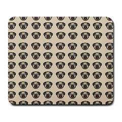 Puppy Dog Pug Pup Graphic Large Mousepads