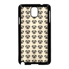 Puppy Dog Pug Pup Graphic Samsung Galaxy Note 3 Neo Hardshell Case (black)