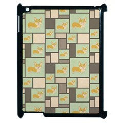 Quirky Corgi Kraft Present Gift Wrap Wrapping Paper Apple Ipad 2 Case (black)