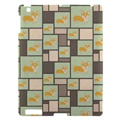 Quirky Corgi Kraft Present Gift Wrap Wrapping Paper Apple Ipad 3/4 Hardshell Case