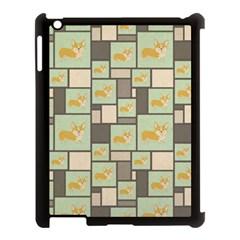 Quirky Corgi Kraft Present Gift Wrap Wrapping Paper Apple Ipad 3/4 Case (black)
