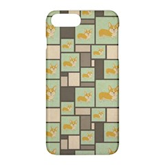 Quirky Corgi Kraft Present Gift Wrap Wrapping Paper Apple Iphone 8 Plus Hardshell Case