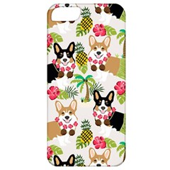 Hula Corgis Fabric Apple Iphone 5 Classic Hardshell Case