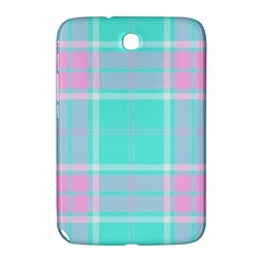 Blue And Pink Pastel Plaid Samsung Galaxy Note 8 0 N5100 Hardshell Case