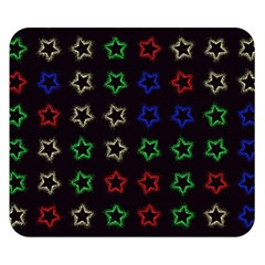 Spray Stars Pattern A Double Sided Flano Blanket (small)