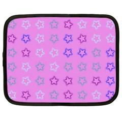 Spray Stars Pattern C Netbook Case (xl)