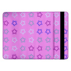 Spray Stars Pattern C Samsung Galaxy Tab Pro 12 2  Flip Case
