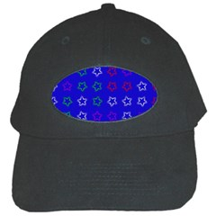 Spray Stars Pattern E Black Cap