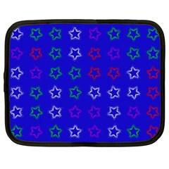 Spray Stars Pattern E Netbook Case (large)